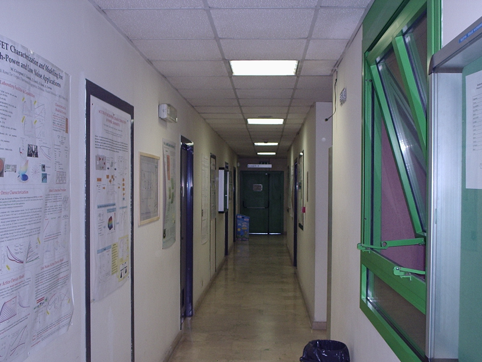 disp, first floor, corridor